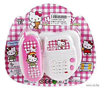 """Музыкальная игрушка """"Телефон. Hello Kitty"""" — фото, картинка"""