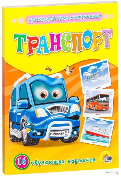 Транспорт. 16 обучающих карточек — фото, картинка