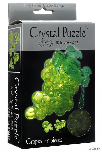 """Пазл-головоломка """"Crystal Puzzle. Зеленый виноград"""" (46 элементов)"""