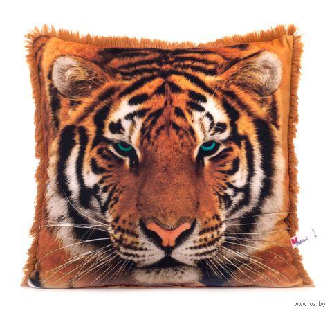 """Подушка """"Амурский тигр"""" (34х32 см) — фото, картинка"""
