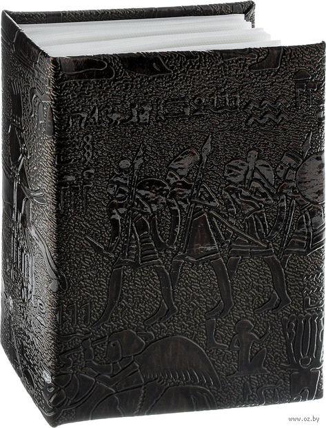 "Фотоальбом ""Egypt Leather"" (100 фотографий; 10х15 см; темно-коричневый) — фото, картинка"