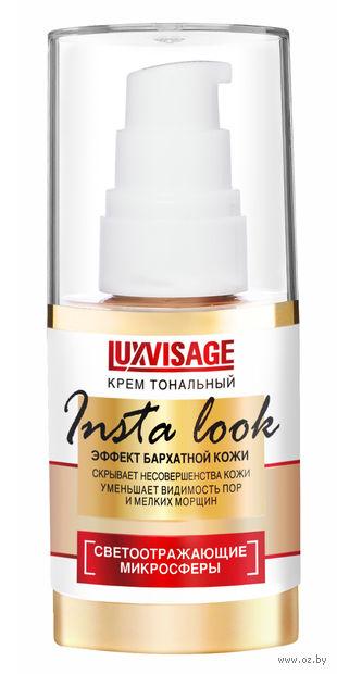 """Тональный крем для лица """"Insta Look"""" (тон: 35, натуральный теплый беж) — фото, картинка"""