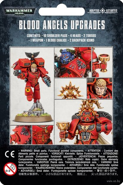 Warhammer 40.000. Blood Angels. Upgrades Pack (41-80) — фото, картинка