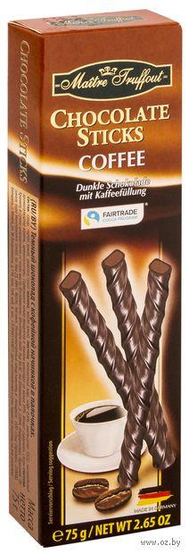"""Конфеты глазированные """"Chocolate Sticks. Coffee"""" (75 г) — фото, картинка"""