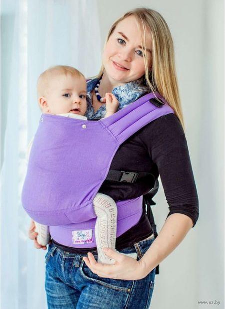 """Эргономичный рюкзак """"Сиреневый"""" — фото, картинка"""