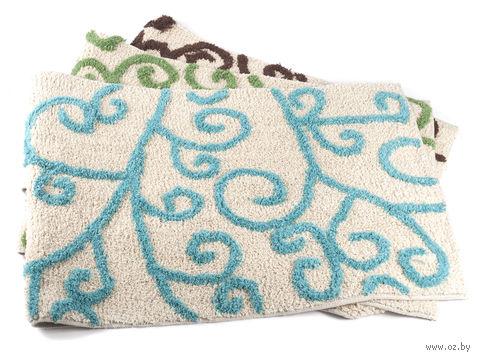 Коврик для ванной текстильный (50х80 см; арт. S-7307)