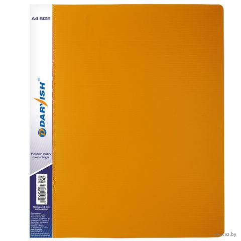 "Папка ""Darvish"" на 2-х кольцах DV7-2K (А4/25 мм; цвет: желтый)"