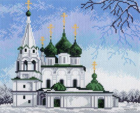 """Канва с нанесенным рисунком """"Церковь Спаса-на-Городу"""""""