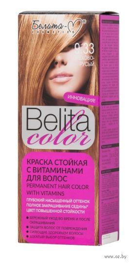 """Краска для волос """"Belita Color"""" тон: 9.33, орехово-русый — фото, картинка"""
