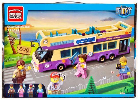 """Конструктор """"City. Экскурсионный автобус"""" (461 деталь) — фото, картинка"""
