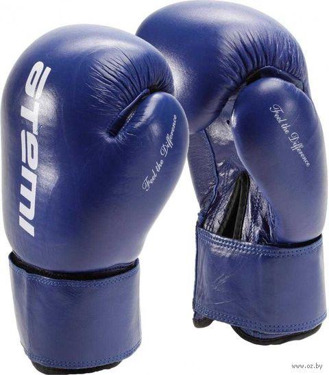 Перчатки боксёрские LTB19009 (10 унций; синие) — фото, картинка