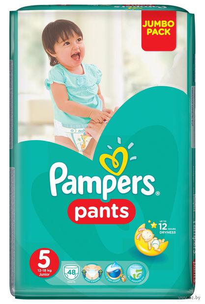 """Одноразовые трусики """"Pampers Pants Junior"""" (12-18 кг, 48 шт, арт. 0001010612)"""