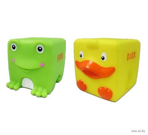 "Набор игрушек для купания ""Кубарики. Озеро"" — фото, картинка"