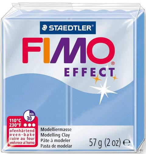 """Глина полимерная """"FIMO Effect"""" (голубой агат; 57 г) — фото, картинка"""