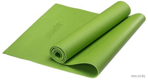 Коврик для йоги FM-101 (173x61x0,8 см; зелёный) — фото, картинка