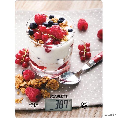 Весы кухонные Scarlett SC-KS57P22 — фото, картинка