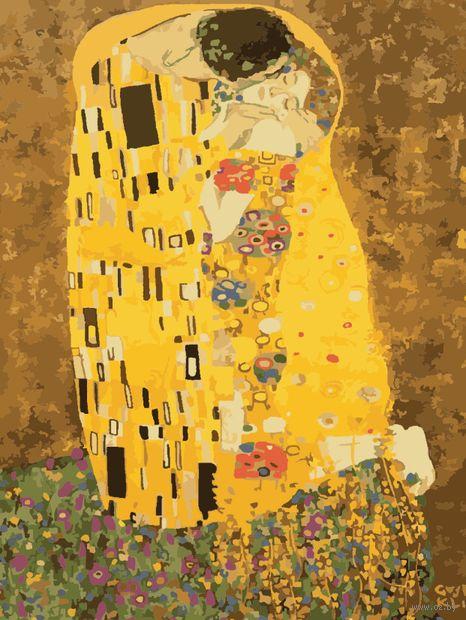 "Картина по номерам ""Густав Климт. Поцелуй"" (400х500 мм) — фото, картинка"