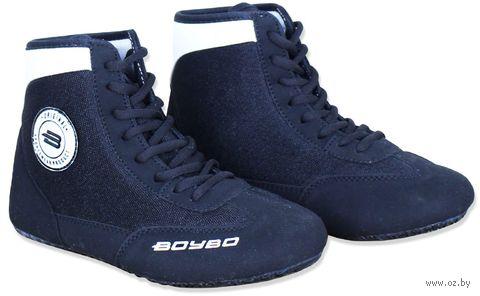 Обувь для борьбы (р. 31; чёрно-белая) — фото, картинка