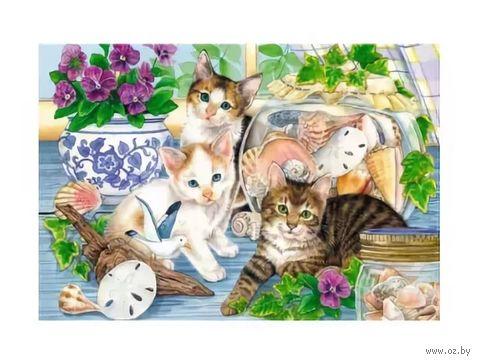 """Пазл """"В мире животных. Кошки на окошке"""" (247 элементов) — фото, картинка"""