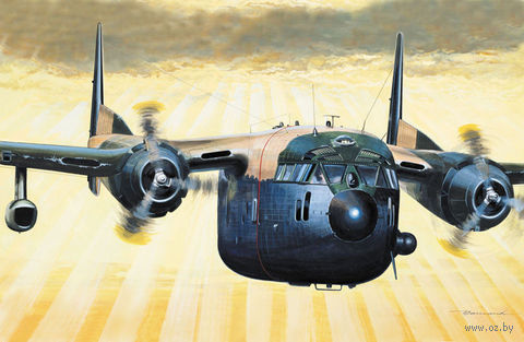 "Ударный самолет ""AC-119K Gunship"" (масштаб: 1/72) — фото, картинка"