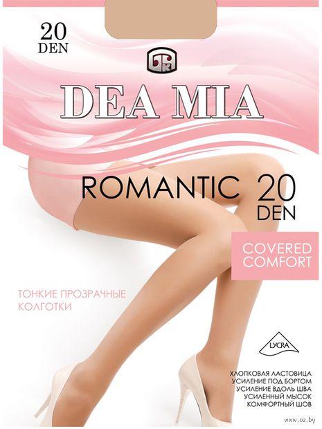 "Колготки женские классические ""Dea Mia. Romantic 20"" — фото, картинка"