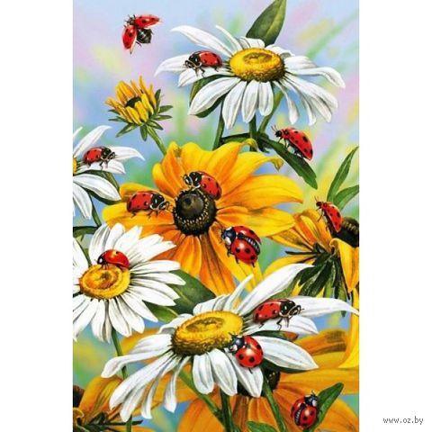 """Алмазная вышивка-мозаика """"Солнечные цветы"""" (400x600 мм) — фото, картинка"""