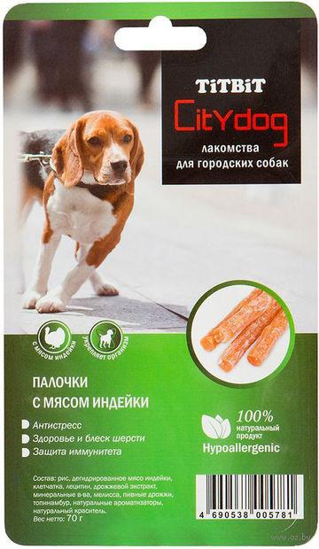 """Лакомство для собак """"City Dog"""" (70 г; индейка) — фото, картинка"""