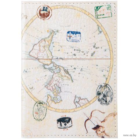 """Обложка на паспорт """"Карта"""" (арт. 254191) — фото, картинка"""