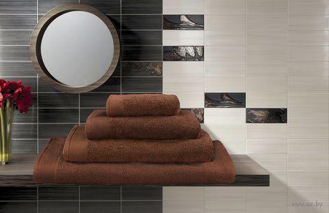 Полотенце махровое (30x50 см; какао) — фото, картинка