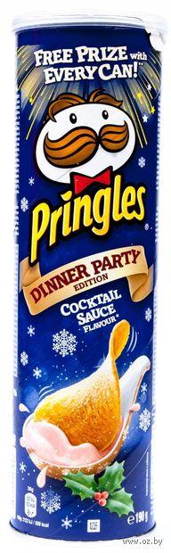 """Чипсы картофельные """"Pringles. Коктейльный соус"""" (190 г) — фото, картинка"""