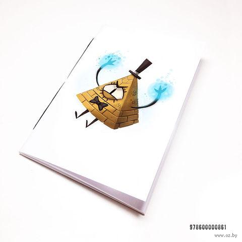 """Блокнот """"Гравити Фолз. Билл"""" (А7; арт. 861) — фото, картинка"""