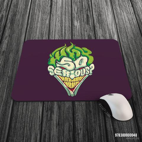 """Коврик для мыши большой """"Джокер"""" (арт. 048)"""