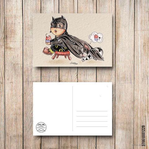 "Открытка ""Бэтмэн"" (арт. 229) — фото, картинка"
