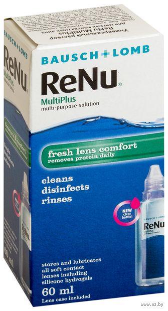 """Раствор для линз """"ReNu Multiplus"""" (60 мл) — фото, картинка"""
