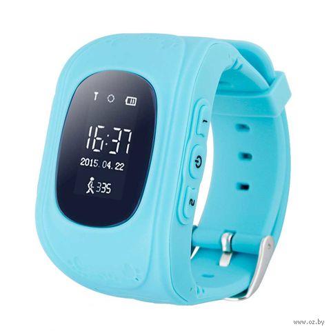 Детские Часы SmartBabyWatch Q50 (голубые) — фото, картинка