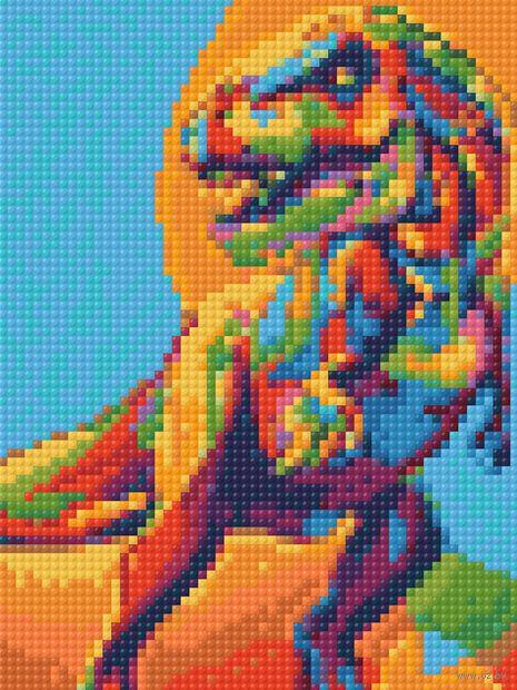 "Алмазная вышивка-мозаика ""Рекс"" (150х200 мм) — фото, картинка"