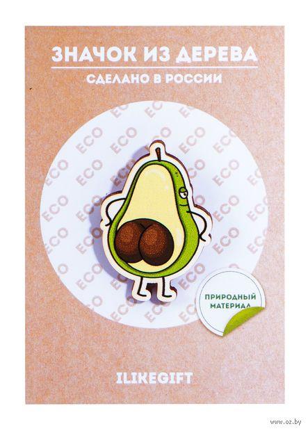 "Значок ""Funny Avocado"" — фото, картинка"