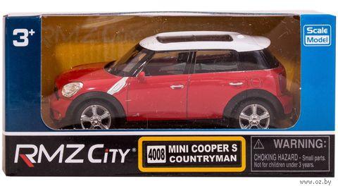 """Модель машины """"Mini Cooper"""" (масштаб: 1/43)"""