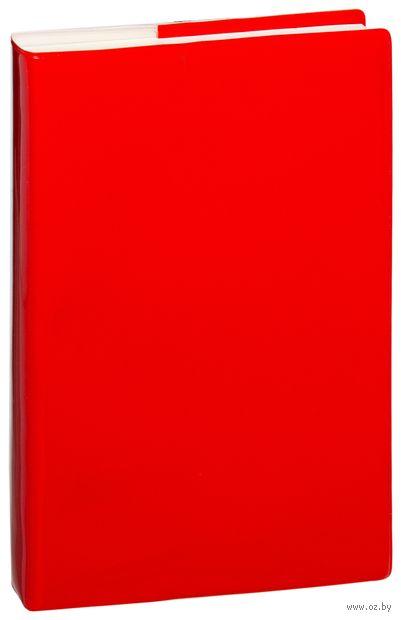 """Ежедневник недатированный """"Glossy Pro"""" (А5; красный) — фото, картинка"""