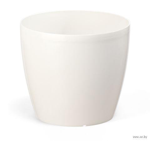 """Кашпо """"Magnolia"""" (12 см; кремовое) — фото, картинка"""