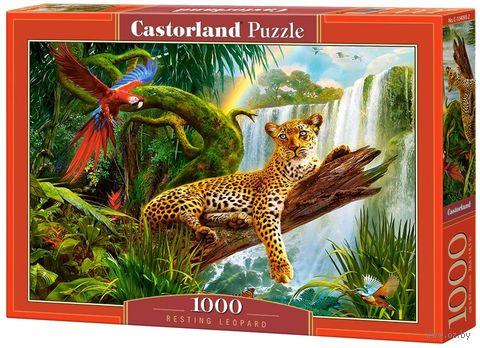 "Пазл ""Леопард"" (1000 элементов) — фото, картинка"