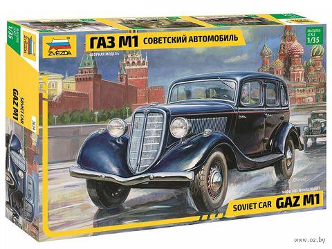 Советский автомобиль ГАЗ М1 (масштаб: 1/35)