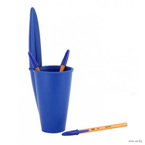 "Подставка для ручек ""Bic"" (синяя)"