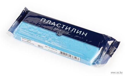 Пластилин восковой (150 г; светло-голубой) — фото, картинка