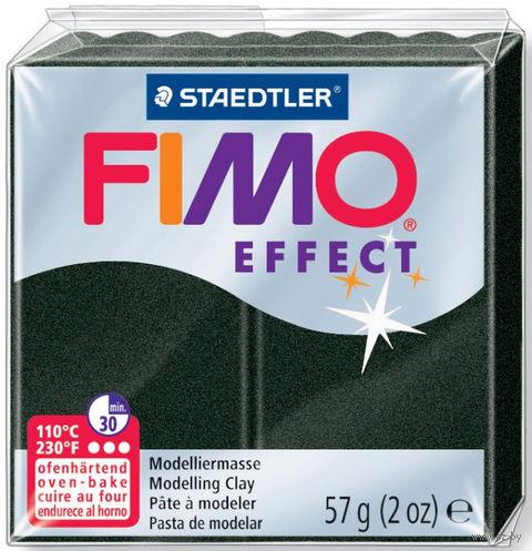 """Глина полимерная """"FIMO Effect"""" (черный перламутр; 57 г) — фото, картинка"""