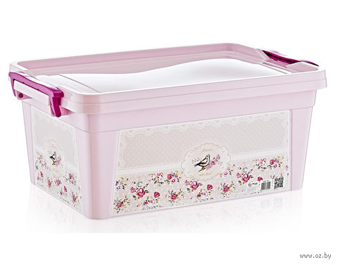 """Ящик для хранения с крышкой """"Птица"""" (3,5 л) — фото, картинка"""