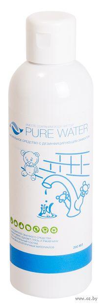 "Средство для дезинфекции сантехники ""Pure water"" (200 мл) — фото, картинка"