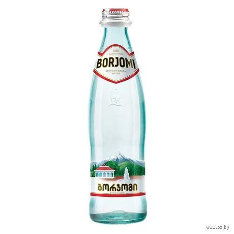 """Вода минеральная """"Borjomi"""" (330 мл) — фото, картинка"""