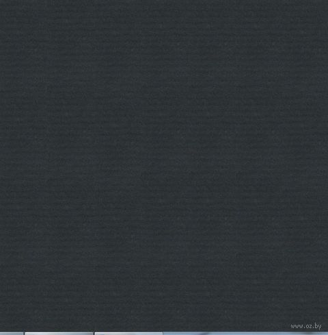 "Бумага подарочная в рулоне ""Coloured Kraft"" (цвет: черный)"