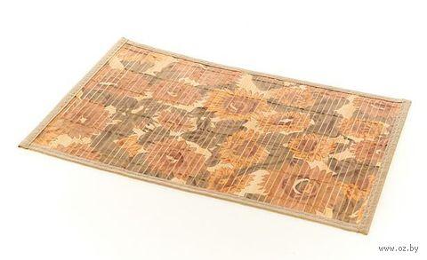Подставка сервировочная бамбуковая окрашенная (30*45 см, арт. 4900024)